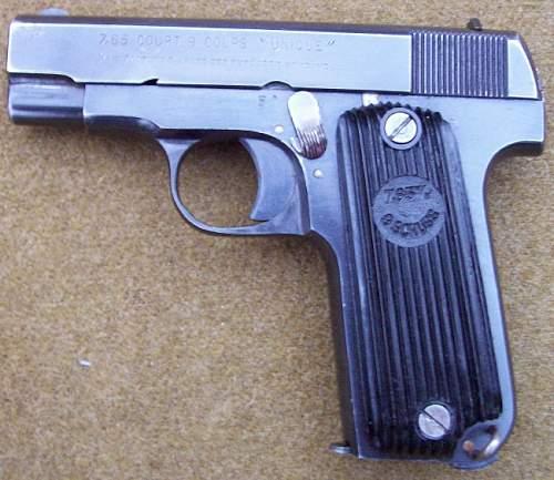 French/German Unique Model 17