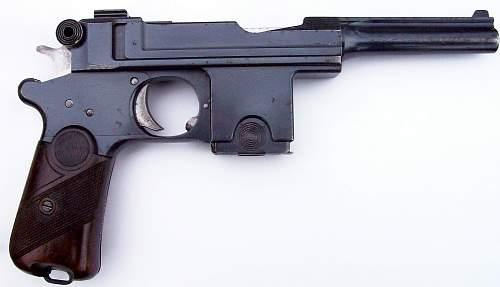 WW1 German Issued Bergman Bayard