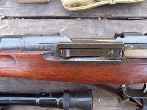 Japanese Type 97 Sniper Rifle