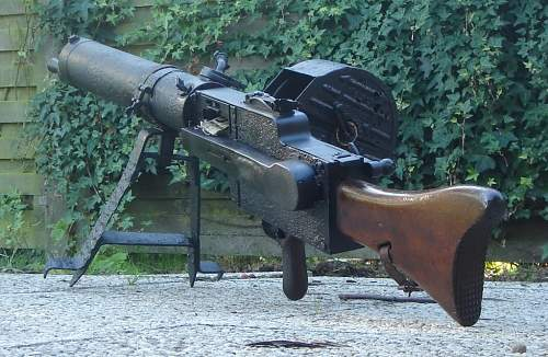 MG08/15 Dug up and 'preserved'. New wood.