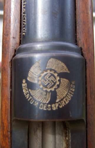 German 4mm (KDF)  Rifle