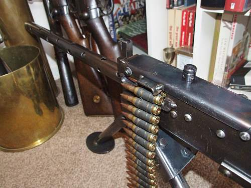 An one-off Browning MG (unlesss you know different)