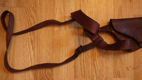 Can anyone help me place origin of this old shoulder holster?