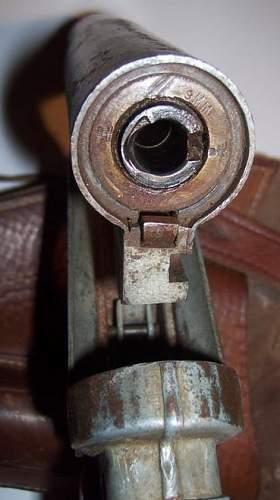 9mm LP42 Flare Gun & Schalldampfer What is This?