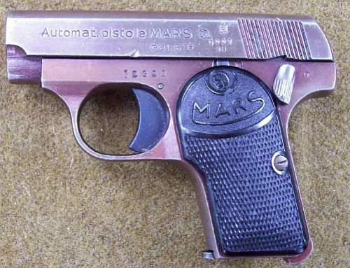 Czech 'MARS' 6.35mm Pistol