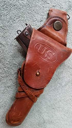 One of my favorites, 1912 Colt US Army 1911
