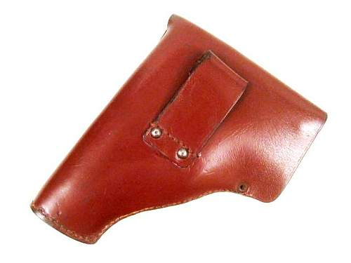 Found a leather holster for M1934 Beretta .380