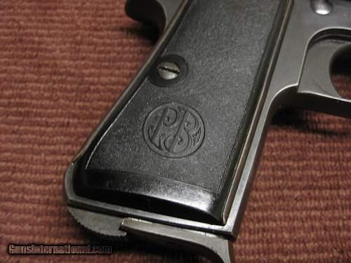 "2nd Beretta Model 1934 Serial ""AA"" Suffix Nazi Contract added"