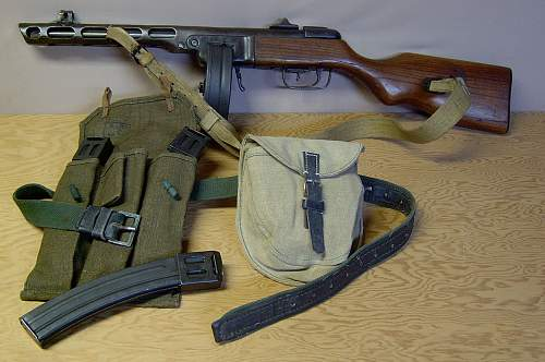 Click image for larger version.  Name:PPSh-41 converted to semi-auto..jpg Views:794 Size:240.4 KB ID:82298