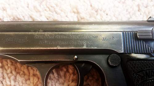 Rare SS Contract Walther PP (RSHA)