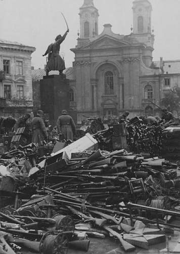 Imperial German/Polish/Nazi Germany Gewehr 98 depot rebuild
