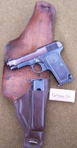 Italian Beretta Model 1922 'NAVY' Issue
