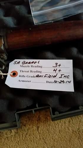M1 Garand made by international Harvester