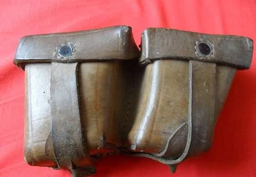 M95 Mannlicher ammo pouch...WW2 or post war?