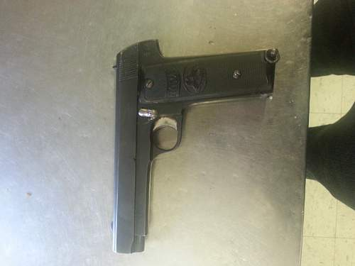 M. Zulaica y Cia Royal 7.65 Pistol questions.