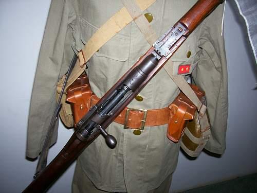 Matching Nagoya type 99 rifle