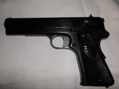 My new WWII German Vis Radom P35 (p) - with provenance!