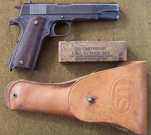 US&S .45 Automatic pistol
