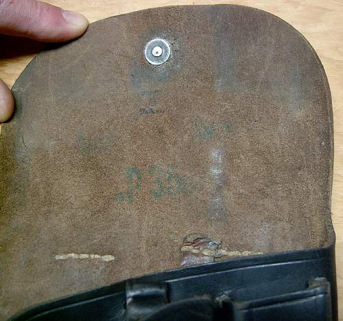 Click image for larger version.  Name:Radom holster BNZ markings with WaA acceptance stamp..jpg Views:214 Size:101.1 KB ID:84750