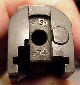 1911 serial number on slide