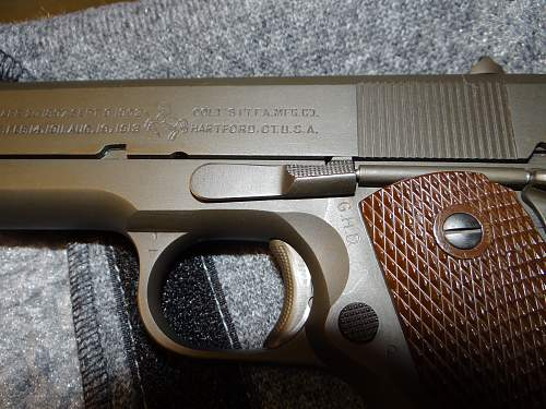 MY OTHER 1944 COLT 1911a1 ALL ORIGINAL & CORRECT