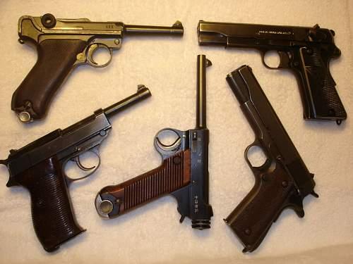 WW2 Service Pistols