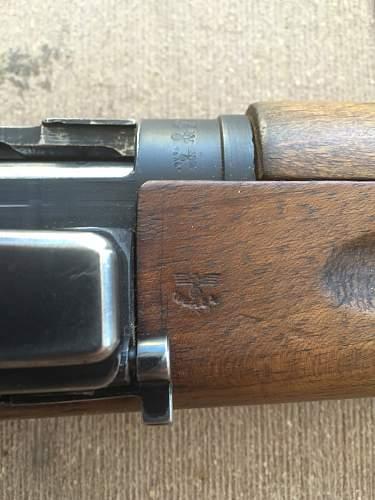 "German-Occupation ""Stomperud"" Krag Rifle"