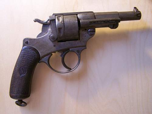 French pistol from 1873