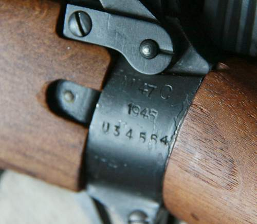 possible enfield sniper rifle that was murdered