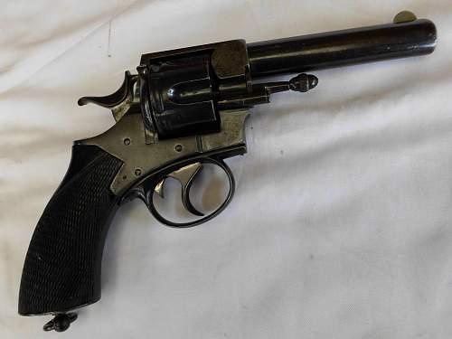 Webley RIC Pattern Revolver in .450 CF