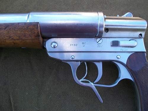 Walther Kriegsmarine Stainless Steel Signal Pistols