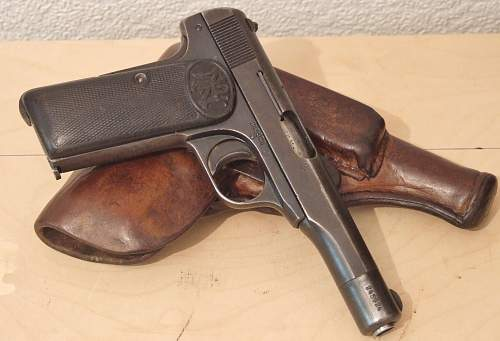 Police -issue FN Browning Model 1922
