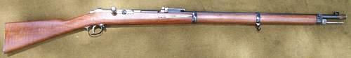 Mauser Model 71/84 11mm Rifle