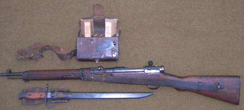 Japanese Type 38 Carbine