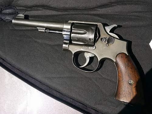 Smith & Wesson .38 Victory revolver