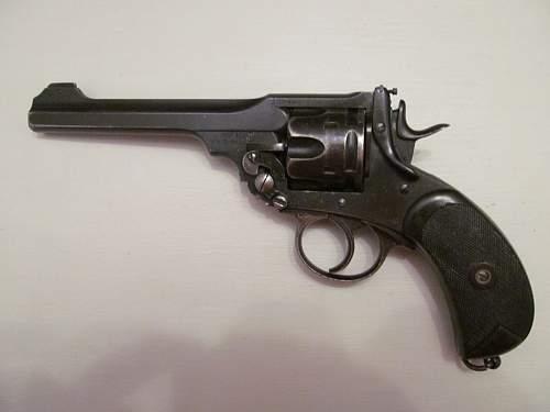 "Webley Mk""V"" .455 revolver"