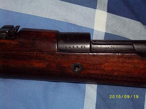1st Deactivated Weapons: Lee Enfield & Czech VZ24