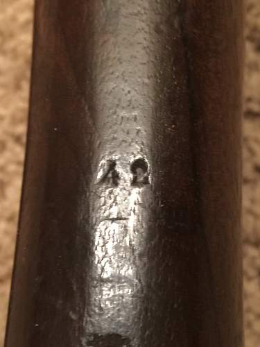 German used French Berthier Mle. 1907/15 carbine