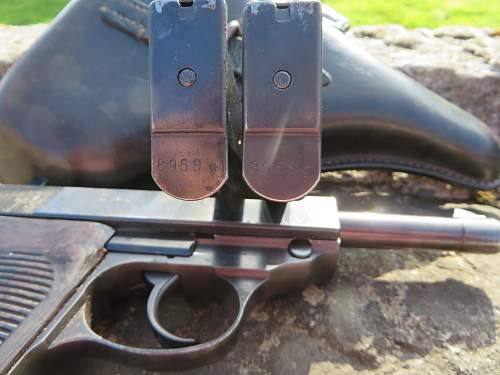 P.38 and holster