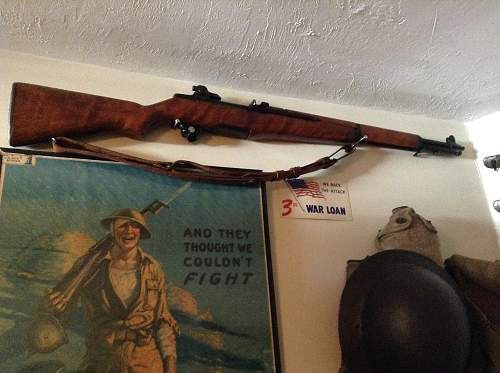 M1 Garand Springfield 1945. Up for review.