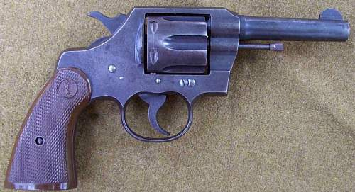 OSS Issue Colt 'COMMANDO' Revolver