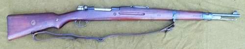 Japanese issue czech vz-24 rifle