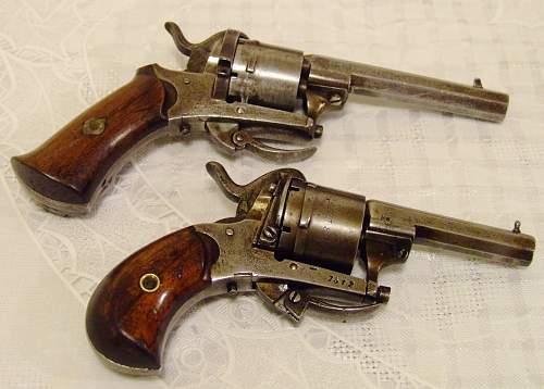 A couple of cheap pistols