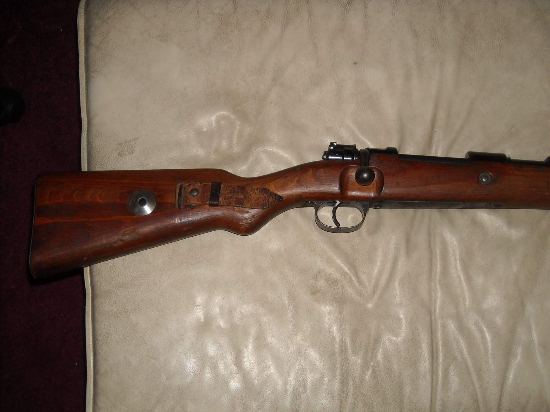 My 1940 243 Code Mauser Borsigwalde Kar 98k