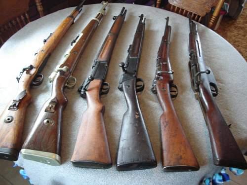 R 35 carbine Navy marked