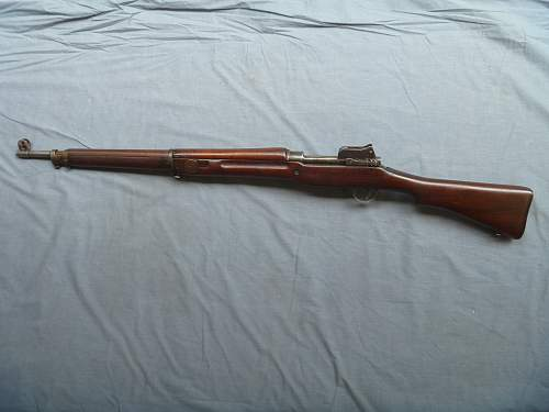 Remington made British Pattern 1914 Mk 1* rifle