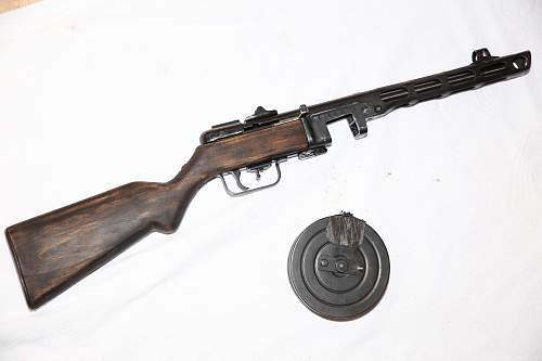PPSh 41 Spagin - stock question