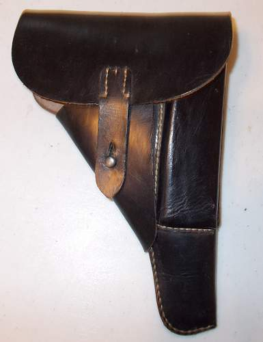 Is this a Polizei Adler on this Late War P38 Holster, also anyone familiar with this RBNr number?