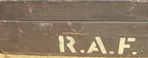 British 'RAF' (Dotter)  SWIFT Training Rifle