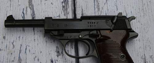Walther P38 byf 43 Pistol